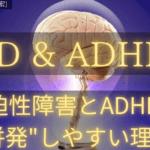 """強迫性障害とADHDが併発しやすい""""明確な""""理由"""